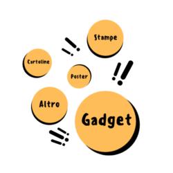 Gadget, cartoline, poster, stampe e altro