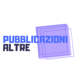 Pubblicazioni Altre